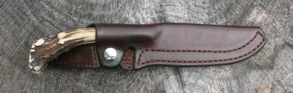 Mike Stott custom knives and leatherwork