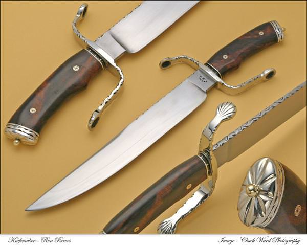 Ron Reeves custom knives