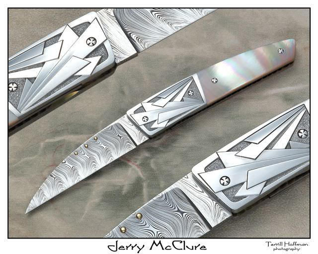 Jerry McCLure Knives