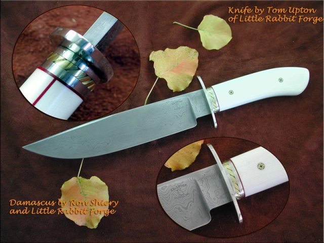 Tom Upton custom knives